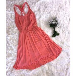 Princess Vera Wang Pink Flowy dress